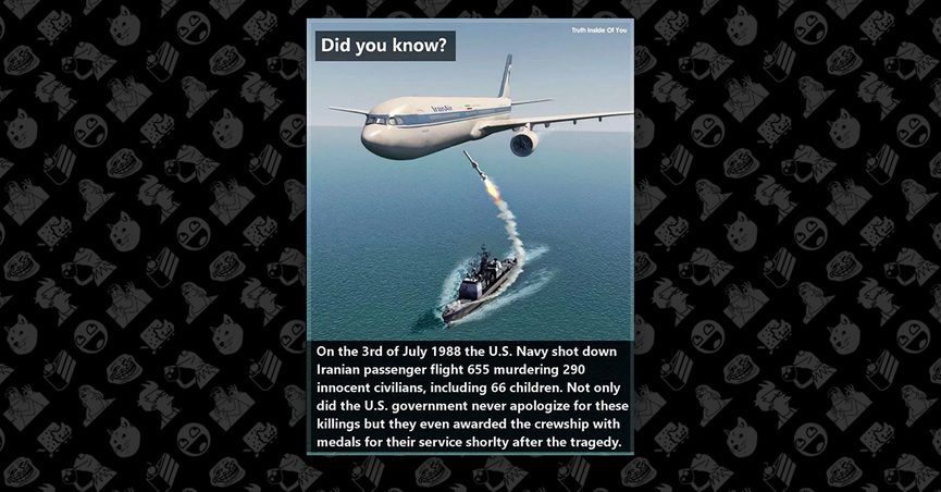 cc146b023ea Did the United States Navy Shoot Down An Iranian Passenger Jet in 1988