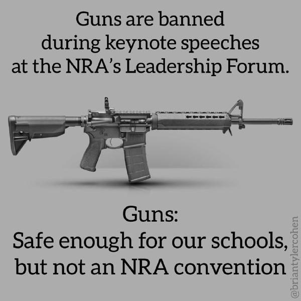 nra banned guns giveaway fact check did the nra ban guns at their own leadership 3331