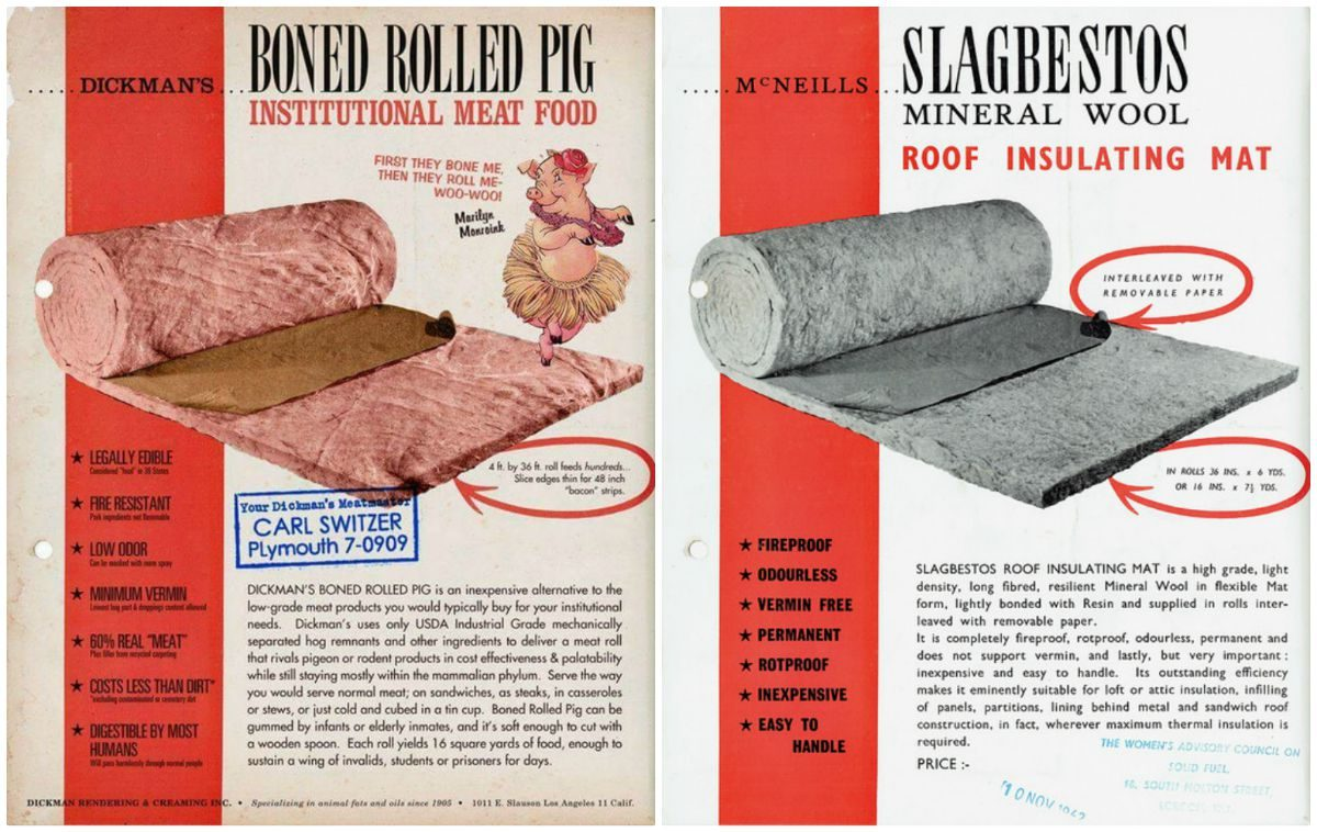 Did Grocery Stores Once Sell 'Boned Rolled Pig'?