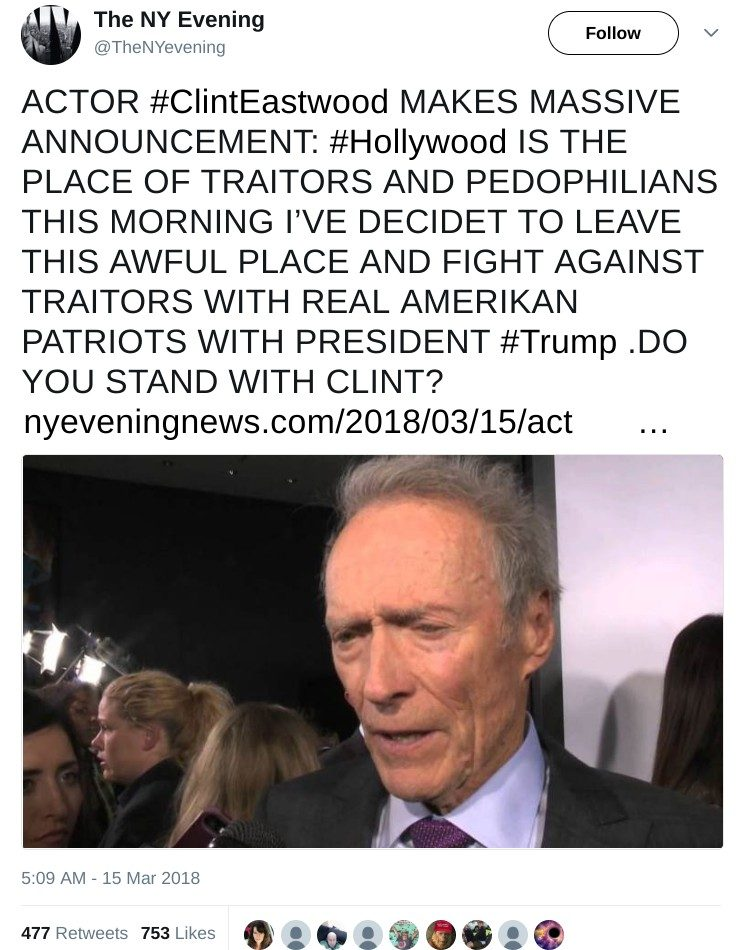 Is Clint Eastwood Leaving Hollywood?