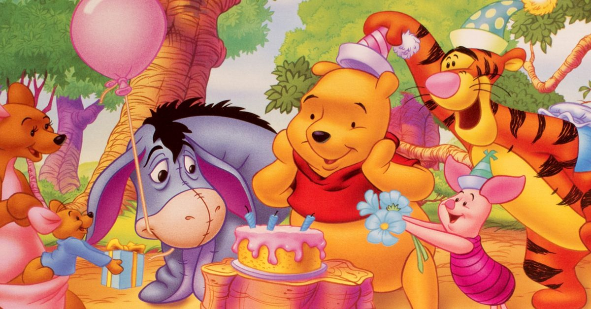 It is a photo of Witty Whinne the Pooh Pics