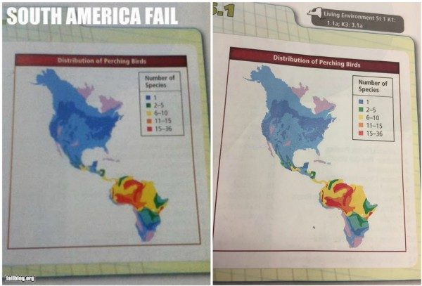 Fact Check Did A Science Textbook Mistake Africa For South America