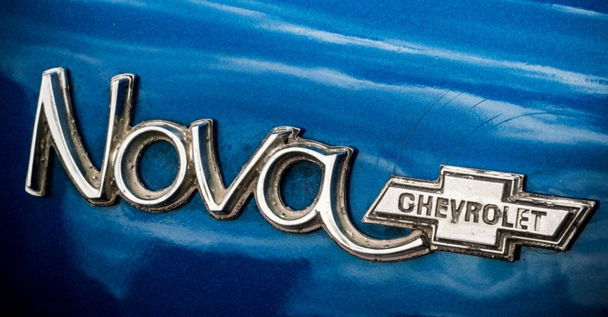 Did the Chevrolet Nova Fail to Sell in Spanish-Speaking