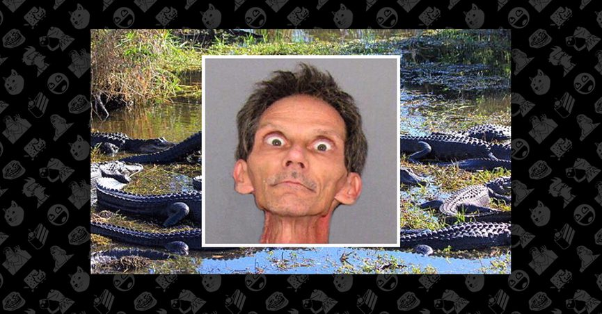 Was a Florida Man Arrested for Tranquilizing and Raping Alligators