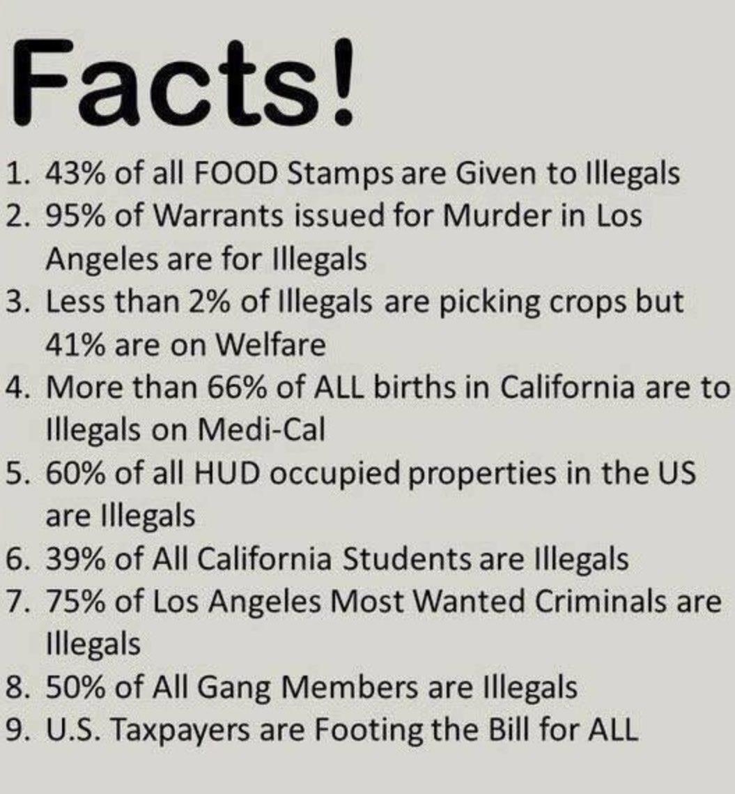 Are 43 Percent of All Food Stamps 'Given to Illegals'?