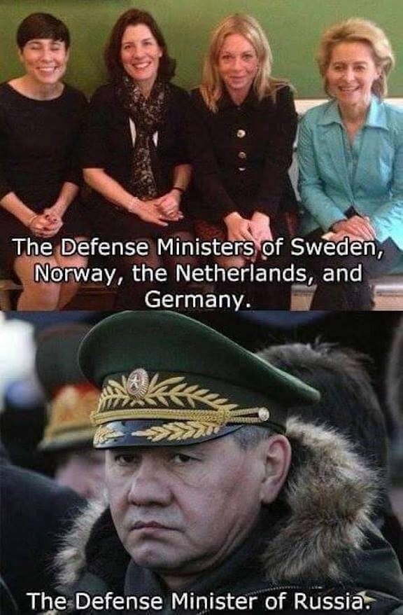 Are These The Defense Ministers Of Norway Sweden Netherlands Germany And Russia Snopes Com