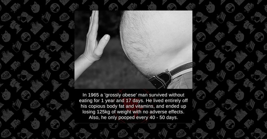 Fact Check Did An Obese Man Survive Without Eating For 382 Days