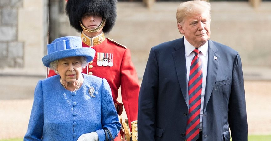 Why President Trump Doesn't Have to Bow to the Queen