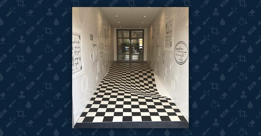 Fact Check Was This Hallway Designed To Prevent Children From Running - Tiles-for-the-hallway