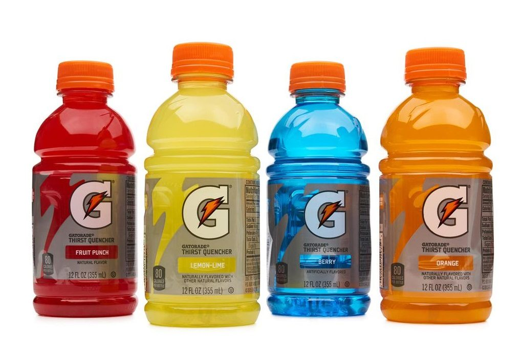Were Gatorade Bottles Designed with a Cap Holder on the Bottom?