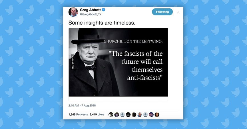 Did Winston Churchill Say 'The Fascists of the Future Will