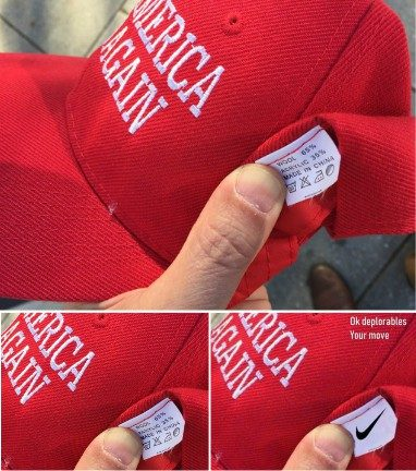 "519b2dd2e94 It should be noted that while some third-party companies do produce ""Make  America Great Again"" hats in China"