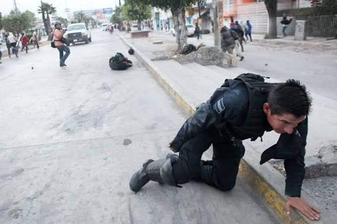 Were These Mexican Police Officers Brutalized by Members of
