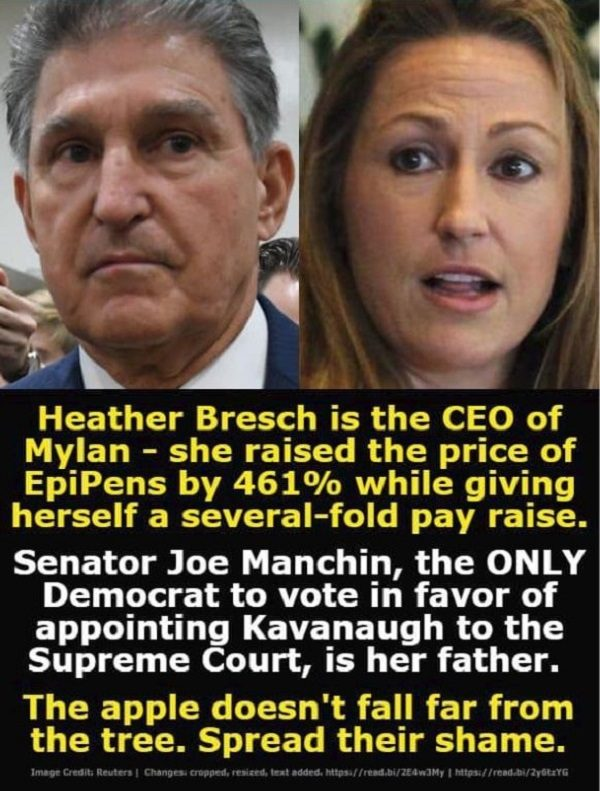 Fact Check Is Mylan Ceo Heather Bresch The Daughter Of Wv