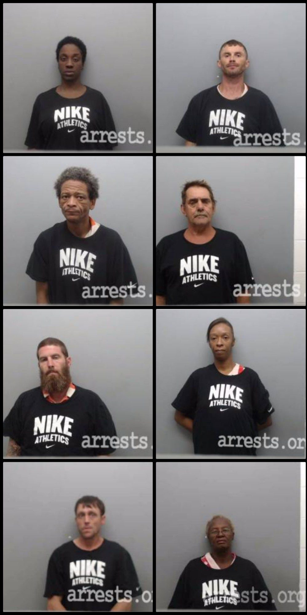 Did a Sheriff's Dept  Dress Arrestees in Nike Shirts for