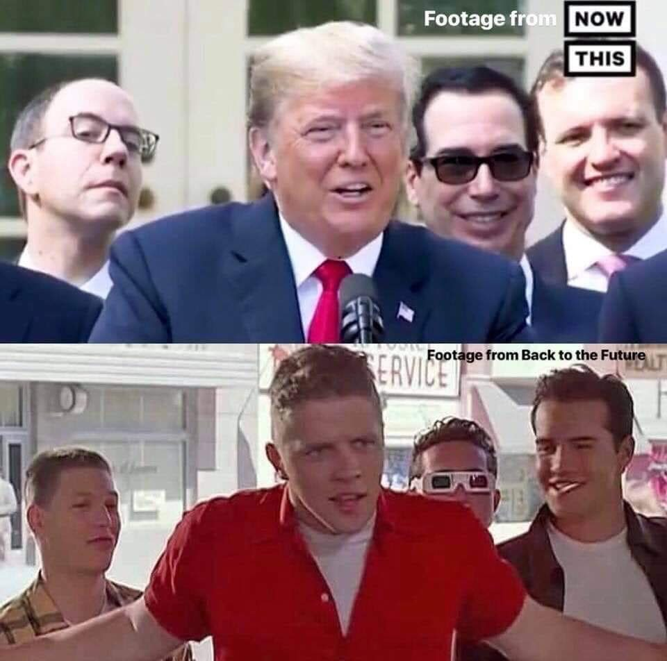 Is This Back To The Future Image Comparison With President Trump