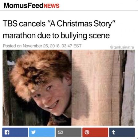 We confirmed with a TBS representative that the network would not be canceling their holiday marathon airing of the beloved movie.