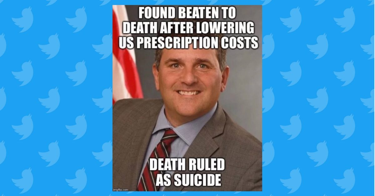Was Hhs Drug Pricing Czar Daniel Best S Death Ruled A