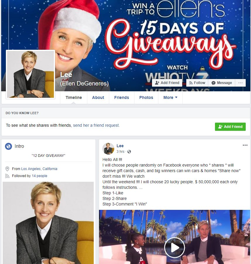 How Frequently Ellen Giveaway