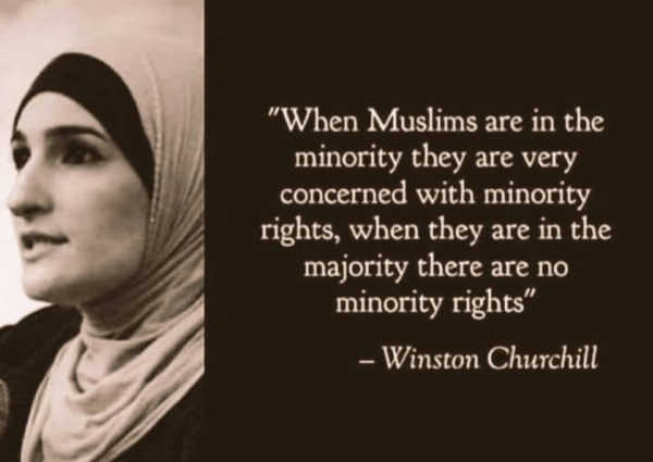 Winston Churchill On Muslims And Minority Rights