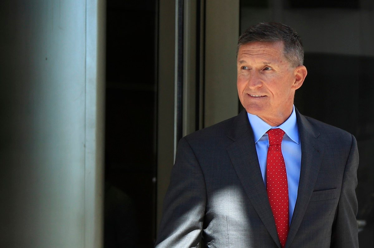 Judge Tells Flynn He Can't Hide 'Disgust' at His Crime