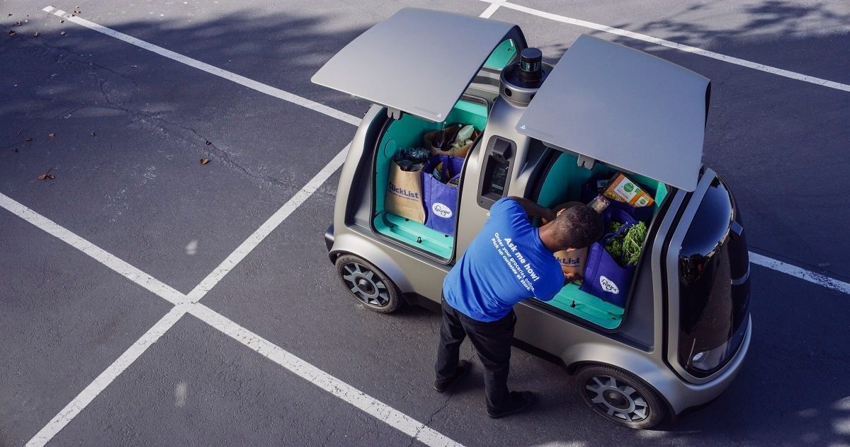 Grocery Delivery, With No Human Drivers, Is Underway