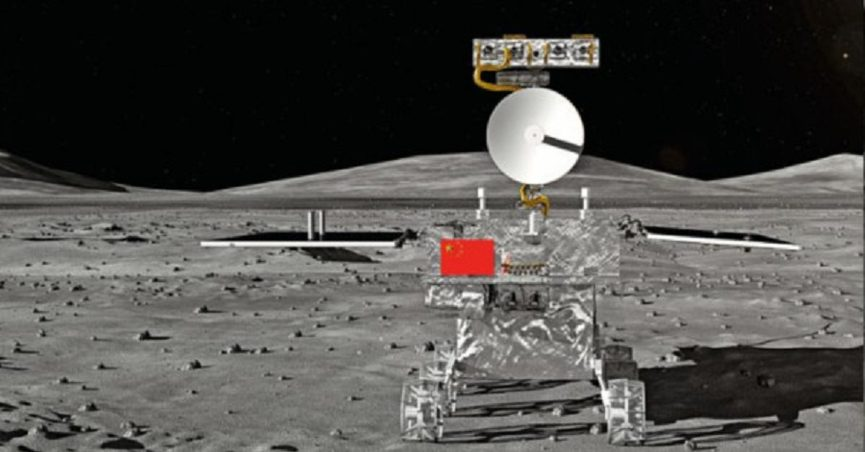 Did a Chinese Lunar Rover Find No Evidence of American Moon Landings?