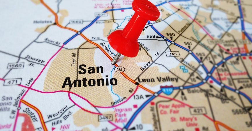 Did President Trump Tout San Antonio as a City Made Safe by ... on plano texas map, fort worth texas map, corpus christi texas map, texas city map, aransas pass texas map, laredo texas map, marble falls texas map, texas rivers map, bexar county map, lytle texas map, galveston texas map, kelly afb texas map, odessa texas map, gilbert texas map, cleveland ohio map, gonzales texas map, united states map, texas county map, lackland texas map, houston texas map,