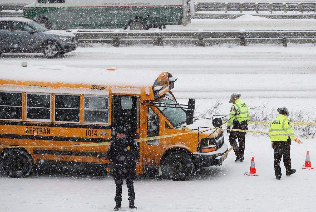 Man Charged with Firing on School Bus, Wounding Driver