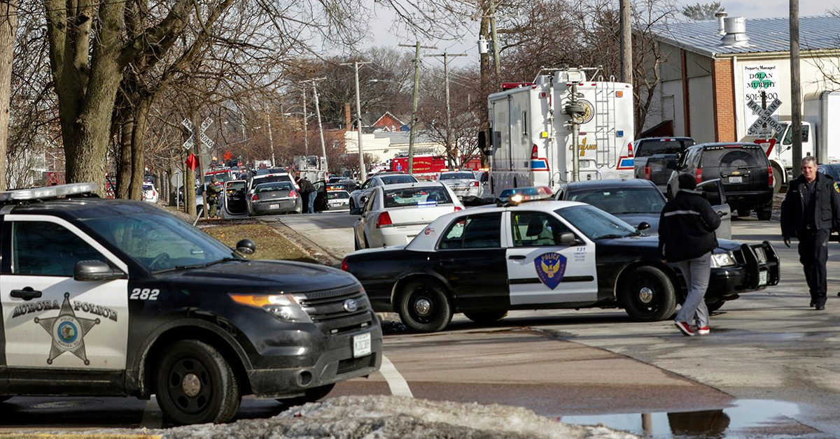 Man Apprehended in Shooting at Illinois Industrial Park