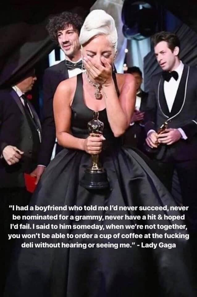 Did Lady Gaga Say She 'Had a Boyfriend Who Told Me I'd Never Succeed?'