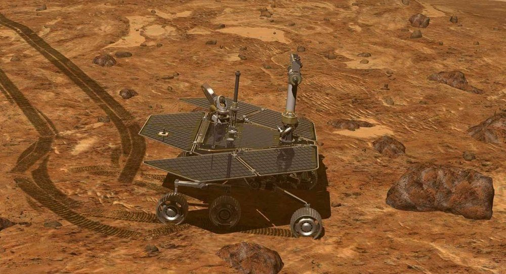 mars rover battery is low - photo #16