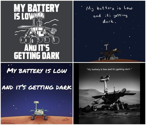 Was A Mars Rover S Final Message To Nasa My Battery Is Low