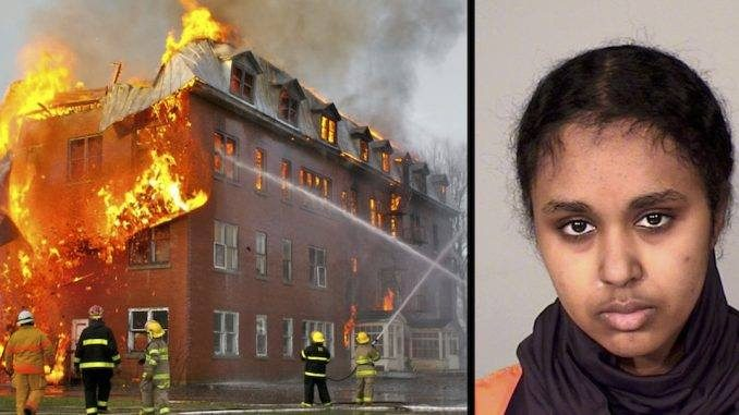 Image result for Muslim Student Sets Fire To Christian School To 'Protest' Against Trump