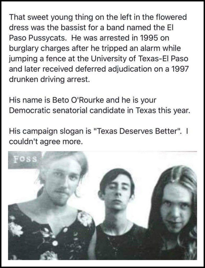 Image result for Beto in a dress