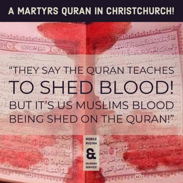 Does This Photograph Show a Blood-Stained Quran from the