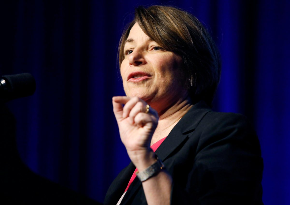 Klobuchar Releases Taxes, Urges Trump to Do Same