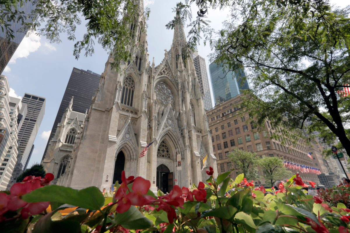 Man with Gas Cans Arrested at St. Patrick's Church in NYC