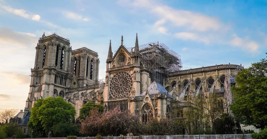 A 2019 fire at Notre Dame Cathedral in Paris sparked interest in the condition of France's other churches.