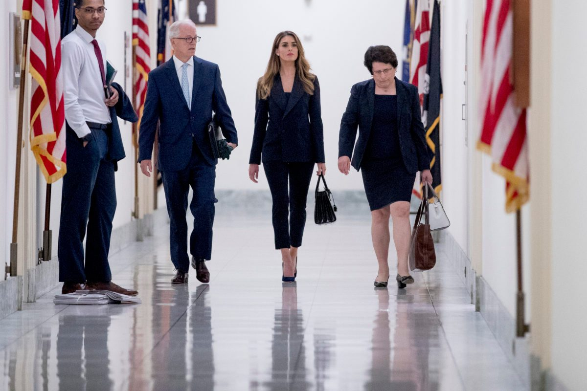 Dems Get Inside Trump Inner Circle with Hope Hicks Interview