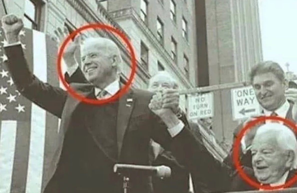 Does This Photo Show Joe Biden with the 'Grand Wizard of the KKK'?