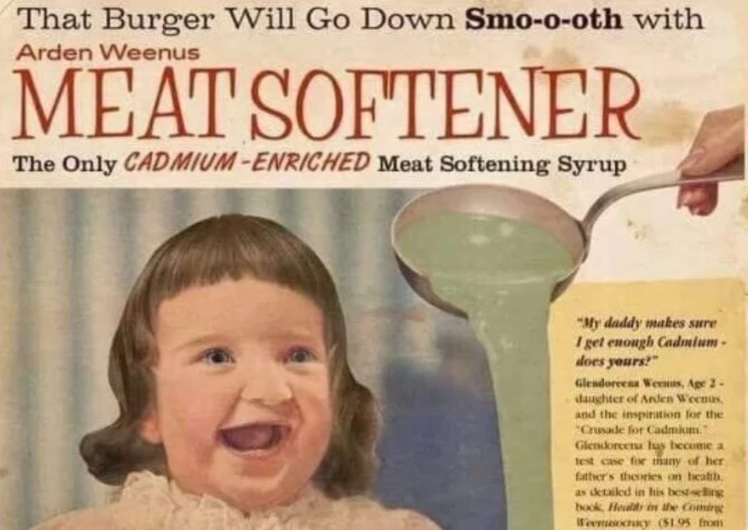 FACT CHECK: Is This a Real Vintage Ad for 'Arden Weenus Meat Softener'?