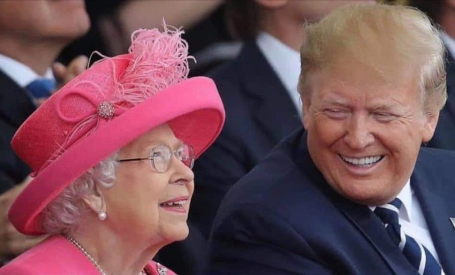did the queen call president trump an  u0026 39 amazing person