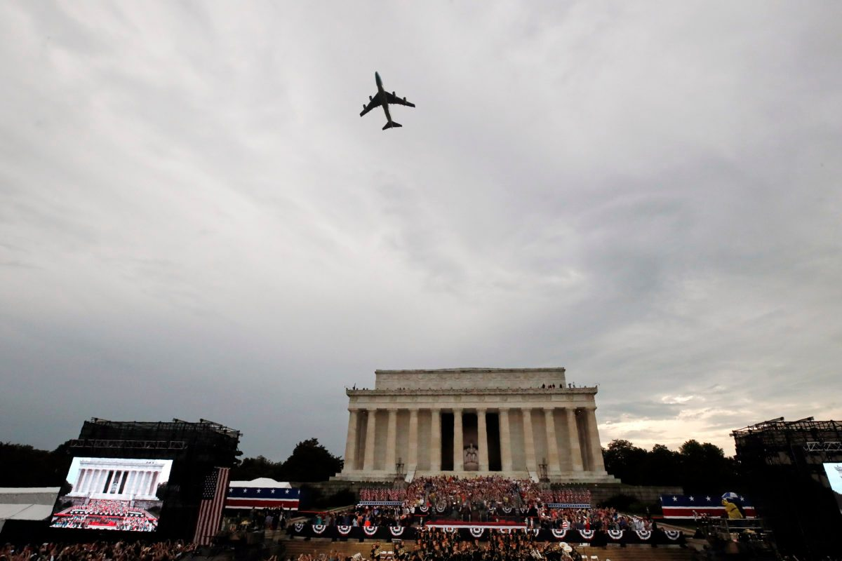 Rough Total for Trump's July Fourth Extravaganza: $5.4M