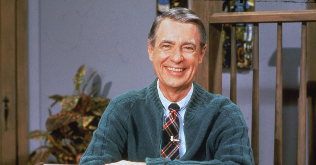 Does A Video Show Mr Rogers Addressing The Nation After 9 11