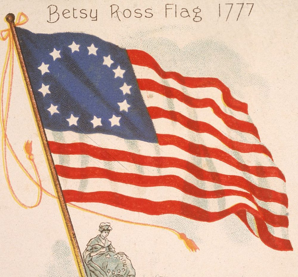 Were Betsy Ross Flags Flown at Obama's