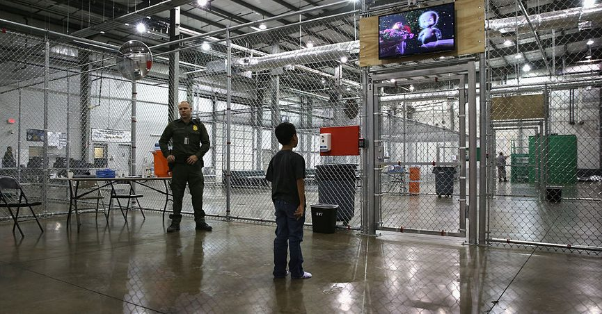 Did Obama Admin Build Cages That House Immigrant Children at
