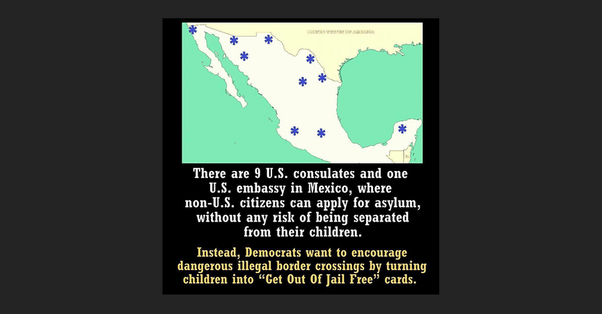 Fact Check Can Asylum Seekers Apply At Us Embassies Abroad - Us-consulates-in-mexico-map