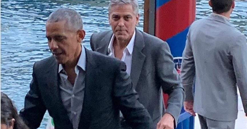 Conspiracy theory falsely links Clooney & Obama to sexual misconduct Obamaclooney