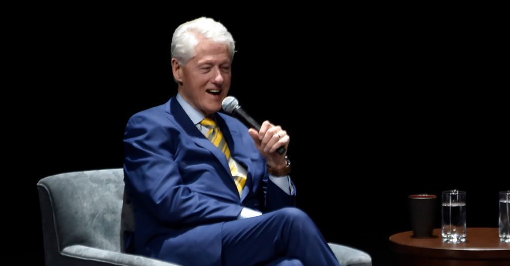 Did Jeffrey Epstein Have a Painting of Bill Clinton Wearing a Dress in His Flat?